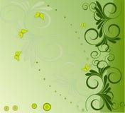 blom- vektor för bakgrund Arkivfoto