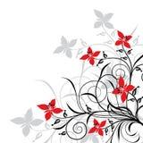 blom- vektor för bakgrunder Arkivbild