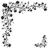 blom- vektor för baner Arkivbild