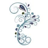 blom- vektor för höstdesign royaltyfri illustrationer