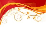 blom- vektor för konstnärlig design Royaltyfria Foton