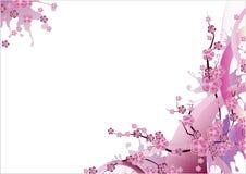Blom- vektorbakgrund Arkivfoton