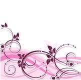 Blom- vektorbakgrund Fotografering för Bildbyråer