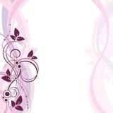 Blom- vektorbakgrundsvår Royaltyfri Bild