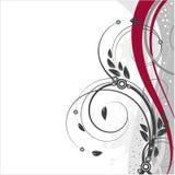 Blom- vektorbakgrundsvår Royaltyfria Bilder