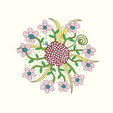 Blom- vektorillustration Arkivbild