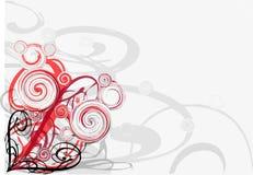 blom- vines för design Royaltyfria Bilder