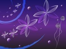 blom- violet för bakgrund Royaltyfri Fotografi