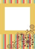 Blom- virvelram Arkivfoton