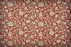 Blom- wallpaper för tappning Royaltyfri Fotografi