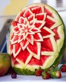 Blomma av vattenmelon Royaltyfri Foto