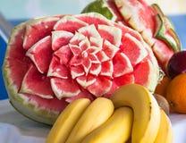 Blomma av vattenmelon Royaltyfria Foton