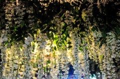 Blomma av weddinddekoren Fotografering för Bildbyråer