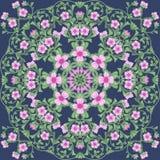 Blomma fält royaltyfri bild