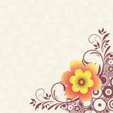 blomma för 4 bakgrund Royaltyfri Fotografi