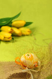 blomma för garneringeaster ägg Royaltyfri Foto