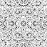 Blomma för sidor för färgläggningbok Arkivfoton