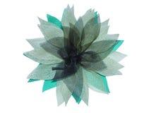 Blomma från organza Fotografering för Bildbyråer