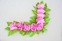 Blomma från papper Royaltyfri Bild