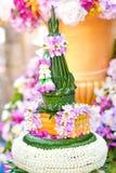 Blomma garneringen Royaltyfri Fotografi