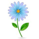 Blomma med droppar Arkivbild