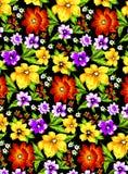Blomma modell 1 Vektor Illustrationer