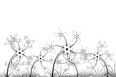 blomma modellen stock illustrationer