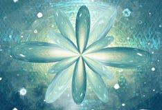 Blomma modern och retro för tappningblandningstrukturen bakgrund för växten Royaltyfri Bild