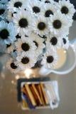 Blomma och te Arkivfoto