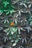 blomma plast- arkivfoto