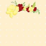 blomma ramen arkivbild