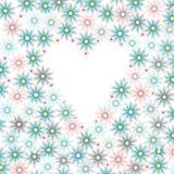 blomma ramen Royaltyfria Bilder
