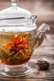 Blomma tea royaltyfri bild
