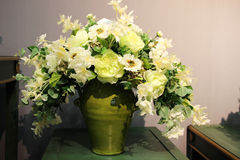 Blomma torkdukekonst arkivfoton