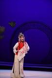 """Blomma västra Chamber†för näsduk-Hong Niang-Kunqu opera""""the  Arkivfoto"""