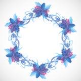Blommabakgrund Royaltyfria Foton