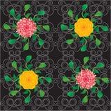 Blommabakgrund Royaltyfri Foto