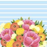 Blommabakgrund Royaltyfria Bilder