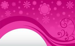 Blommabakgrund Royaltyfri Fotografi