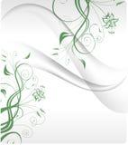 Blommabakgrund royaltyfri illustrationer