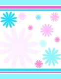 blommaband royaltyfri illustrationer