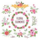 Blommabeståndsdelar Royaltyfria Bilder
