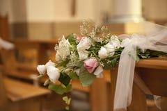 blommabröllop Arkivfoton