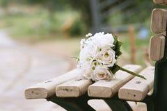 blommabröllop royaltyfri bild