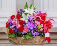 Blommabukett fotografering för bildbyråer