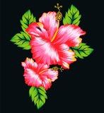 Blommadesign 3 Vektor Illustrationer