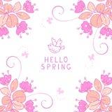 Blommadesign Royaltyfri Bild