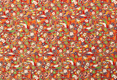 Blommadesignbakgrund Arkivfoton