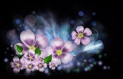 Blommafantasi Fotografering för Bildbyråer