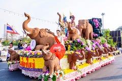 Blommafestival Arkivfoto